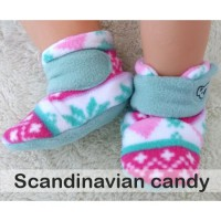 Booties Scandinavian Candy