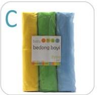 Bedong Baby Chaz Set C