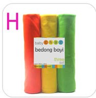 Bedong Baby Chaz Set H