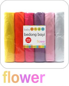 Bedong Baby Chaz Set Flower