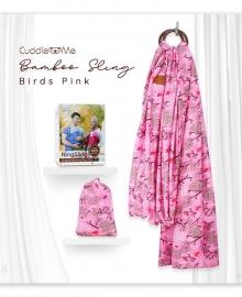 Bamboo Sling Cuddle Me Bird Pink