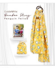 Bamboo Sling Penguin Yellow