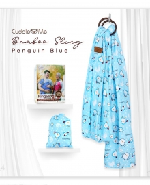 Bamboo Sling Pinguin Blue