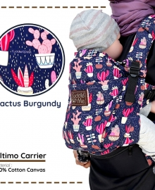 Cuddle Me Ultimo Carrier Cactus Burgundy
