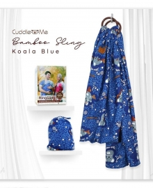 Bamboo Sling Koala Blue