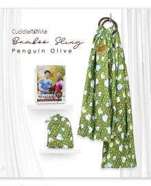 Bamboo Sling Penguin Olive