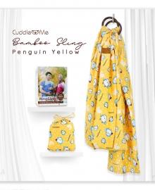 Bamboo Sling Penguin Yellow