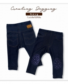 Crawling Jegging Cuddle Me Navy