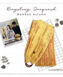 Ring Sling Jacquard Bamboo Autumn